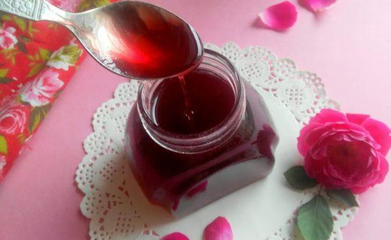 Comment faire du sirop de rose ?
